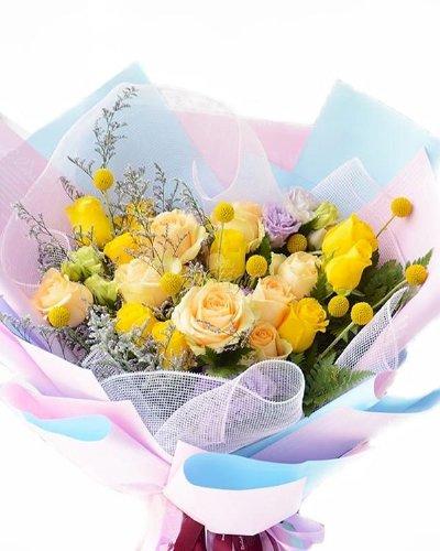 Bó hoa chào ngày mới rạng rỡ - LDNK137