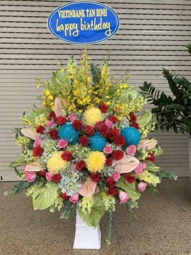Bình hoa chúc mừng sinh nhật - LDNK01