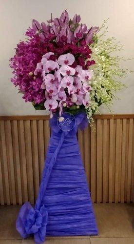 Lẵng hoa viếng đám tang chia buồn - LDNK51