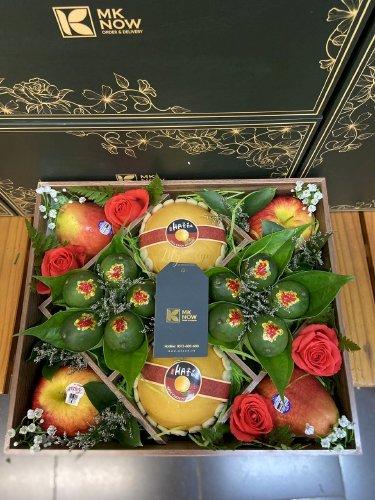 Hộp hoa trái cây dạm ngõ - DNNK10
