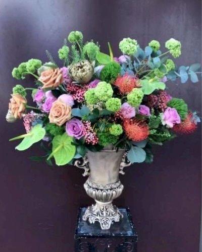Bình hoa chúc mừng đẹp lung linh - LDNK220