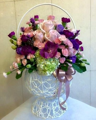 Bình hoa sang trọng chúc mừng sinh nhật mẹ - LDNK88