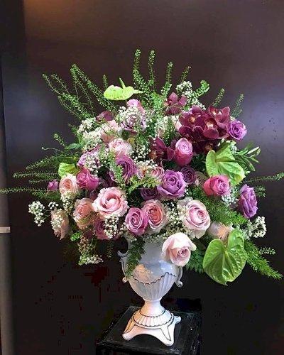 Bình hoa tươi chúc mừng ngày của mẹ - LDNK82