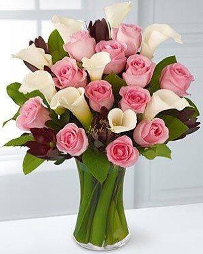 Bình hoa tươi để bàn trang trí - LDNK90