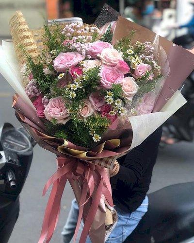 Bó hoa mừng sinh nhật mẹ - LDNK110
