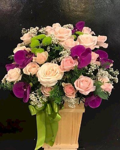 Giỏ hoa chúc mừng ngày nhà giáo việt nam - LDNK172