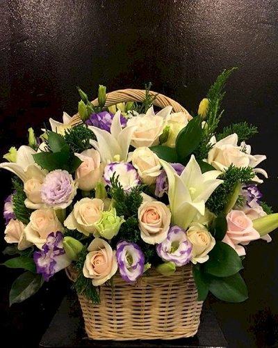 Giỏ hoa chúc mừng thầy cô giáo ngày 20/11 - LDNK181