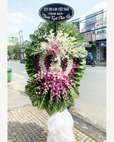 Kệ hoa tang lễ chia buồn phúng điếu - LDNK208