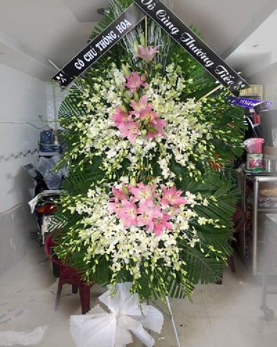 Kệ hoa viếng tang lễ vô cùng thương tiếc - LDNK207