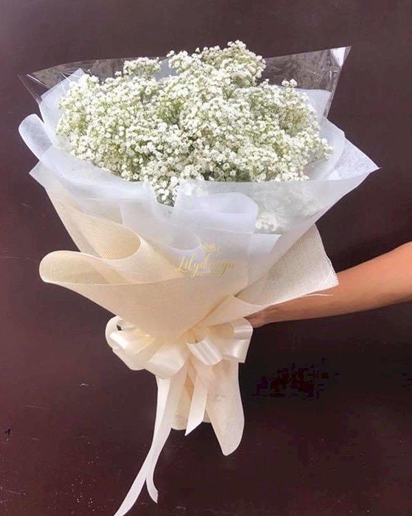 Bó hoa baby trắng nhỏ xinh - LDNK135