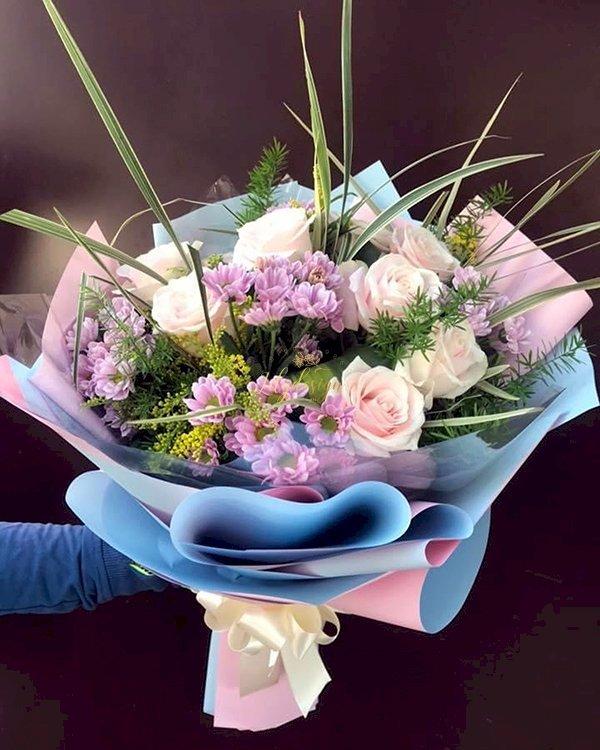 Bó hoa chúc mừng ngày mùng 8 tháng 3 - LDNK142