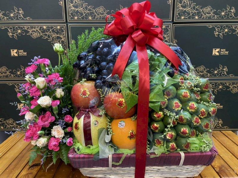 Giỏ hoa quả dạm ngõ đẹp - DNNK03