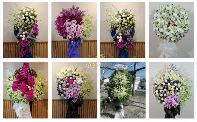 LilyDesign cung cấp các dịch vụ, sản phẩm hoa tươi gồm