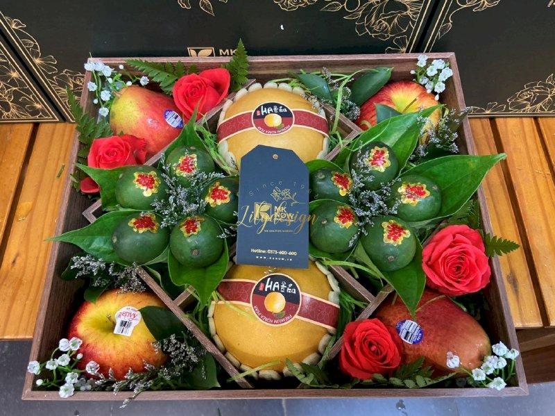 Hộp hoa trái cây dạm ngõ - DNNK10(1)