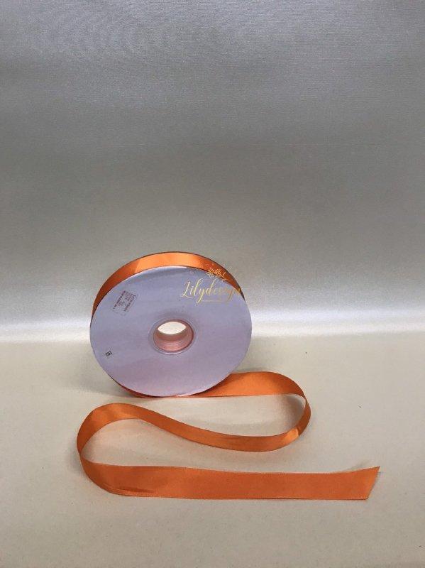 Ruy băng lụa cao cấp 2,5F màu cam