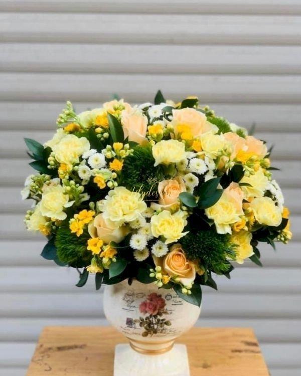 Bình hoa tươi chúc mừng văn phòng mới - LDNK218