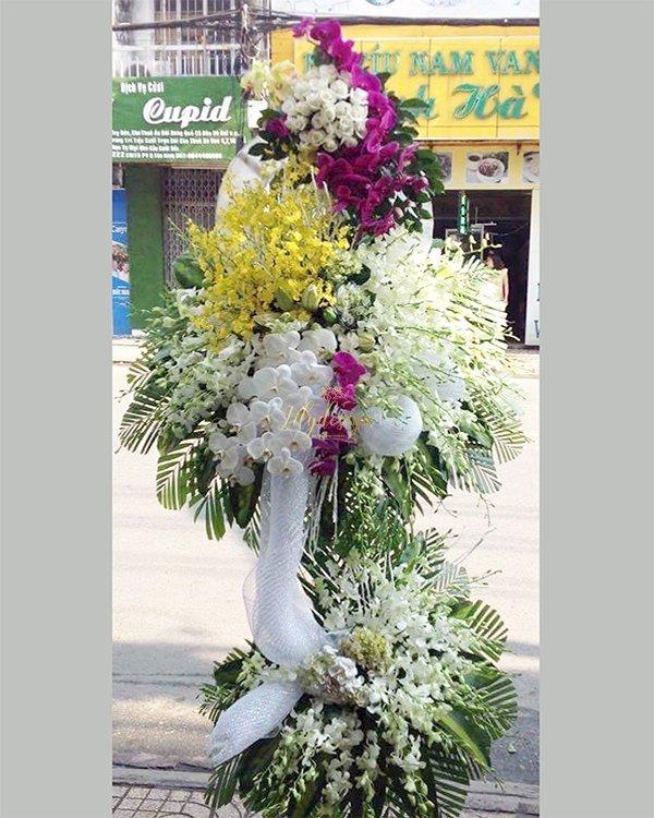 Kệ hoa viếng tang lễ thành kín phân ưu - LDNK205