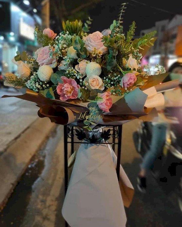 Bó hoa đẹp tặng sinh nhật bạn - LDNK116